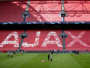 Tottenham Hotspur Training and Press Conference – Ajax Stadium