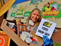 Urgent appeal for food as Telford's Jungleland becomes Telford Crisis Support donation point - with video