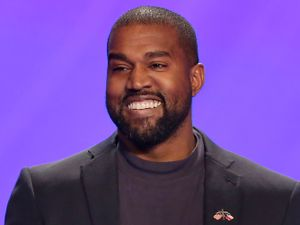 Kanye West has been living inside an Atlanta stadium while working on his new album