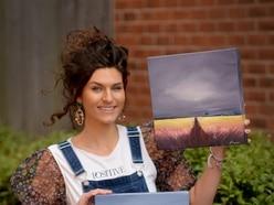 Lockdown art raffle raises cash for hospital charity