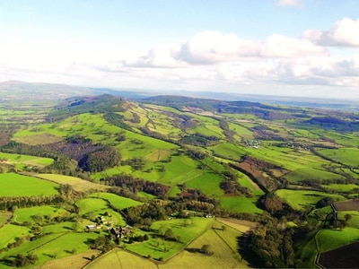 Cycling, walks and wildlife in Shropshire Hills tourism drive