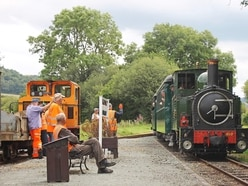 Delight at steam train's award