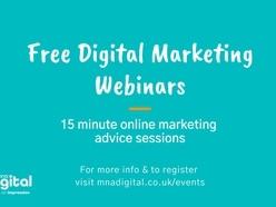 Free digital marketing webinars for businesses