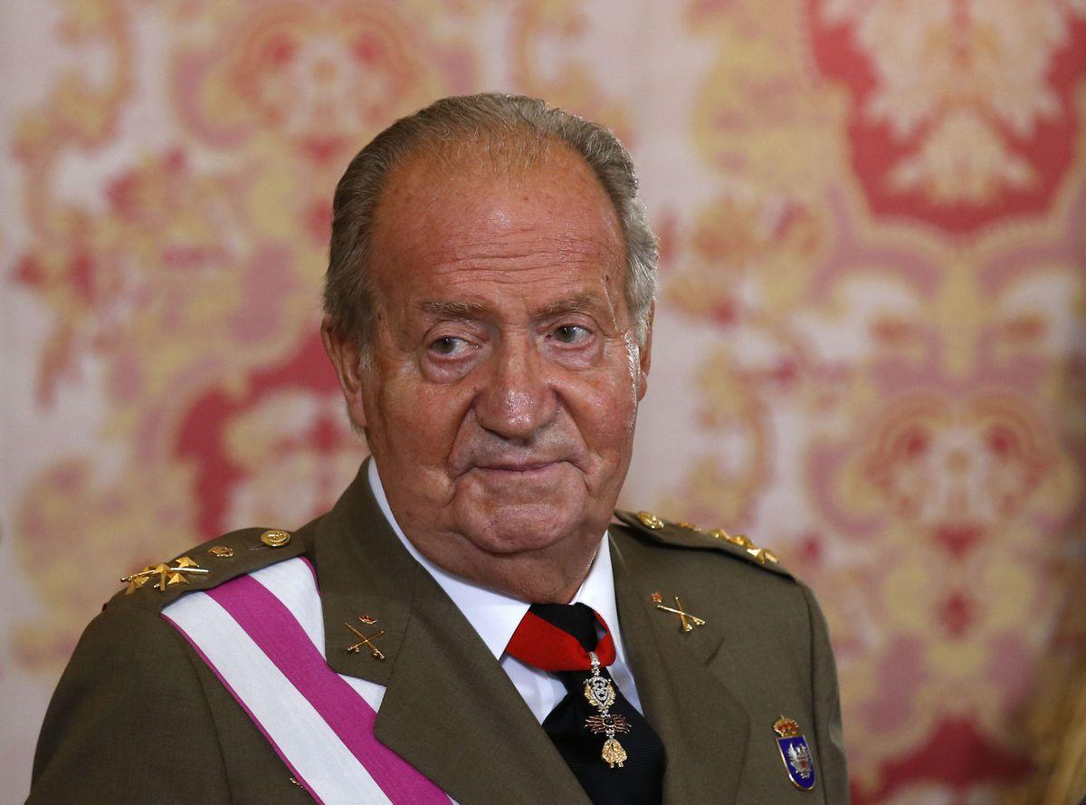 Spanish King Juan Carlos pictured in 2014