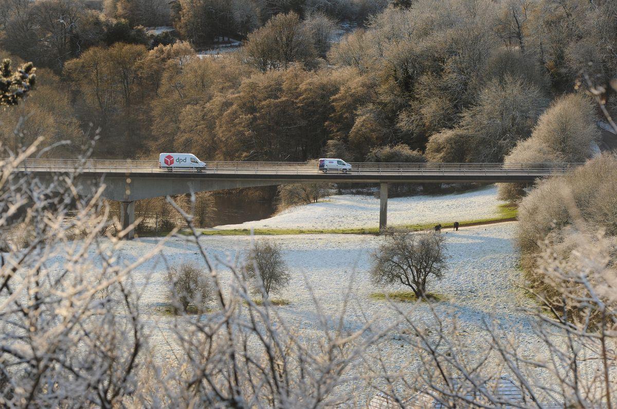 The A458, Bridgnorth