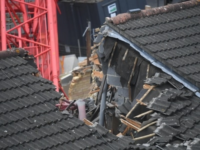 Man tells of 'miracle' escape as crane collapse killed great aunt