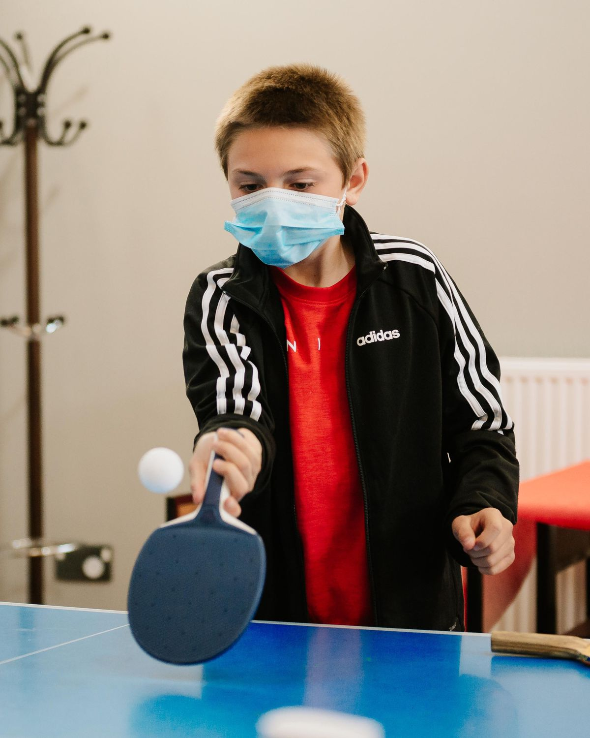 Table tennis is a popular staple