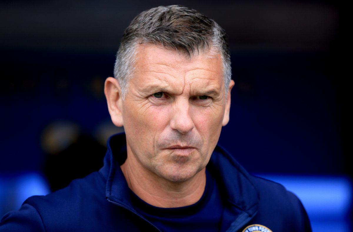 Former Shrewsbury Town manager John Askey.