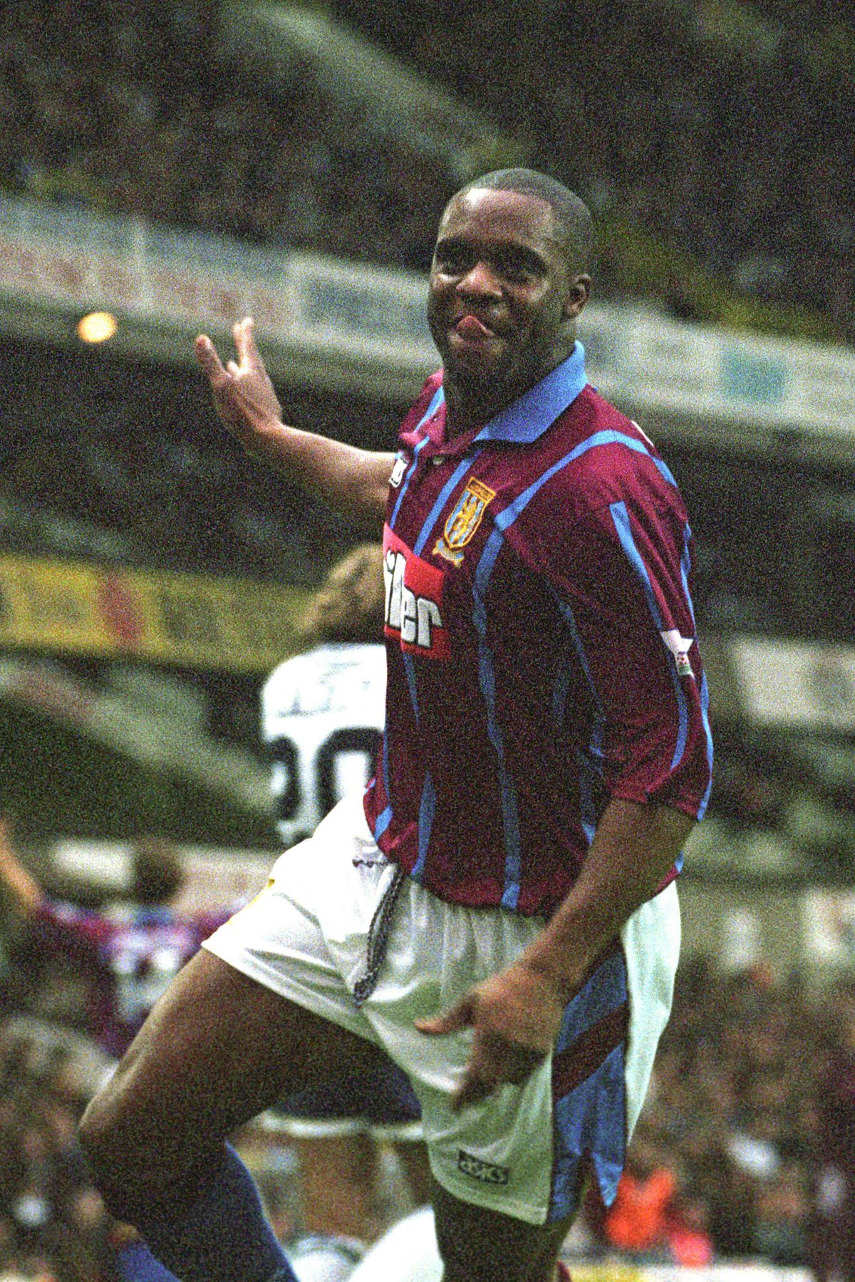 Dalian Atkinson played for Aston Villa during his footballing career