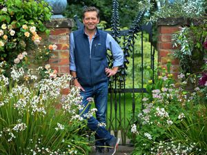 LAST COPYRIGHT EXPRESS&STAR TIM THURSFIELD 10/06/19.Woodlands Hall is opening its gardens to the public to raise money for Glazeley and Chelmarsh churches and Kidney Research..Caspar Gabb, owner of the Hall, had a kidney donated by his dad Roger, hence why Kidney research. .Pictured is Casper Gabb...
