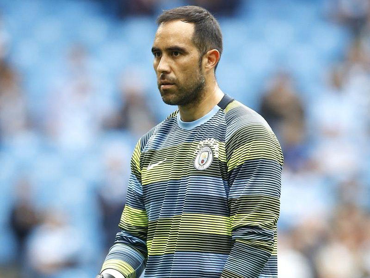 Manchester City Goalkeeper Claudio Bravo Suffers Achilles Injury In Training Shropshire Star