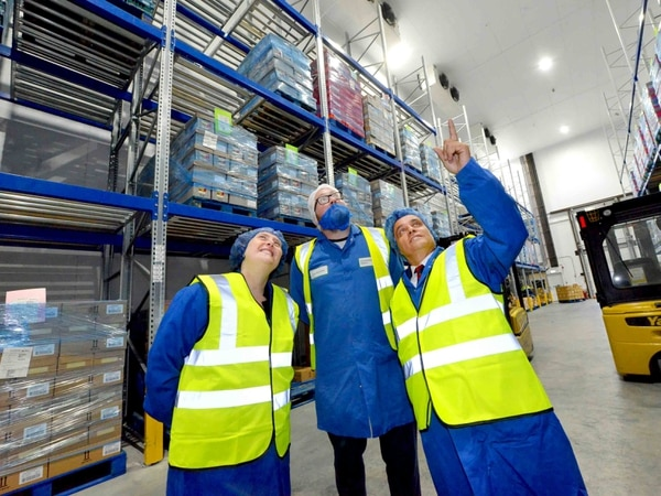 Back to work for mayor as he opens £1.3 million Market Drayton factory