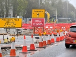HGV battle continues at busy A483 roadworks near Oswestry