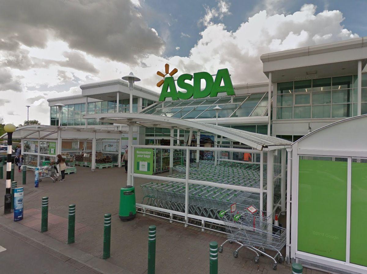 Asda in Donnington. Photo: Google