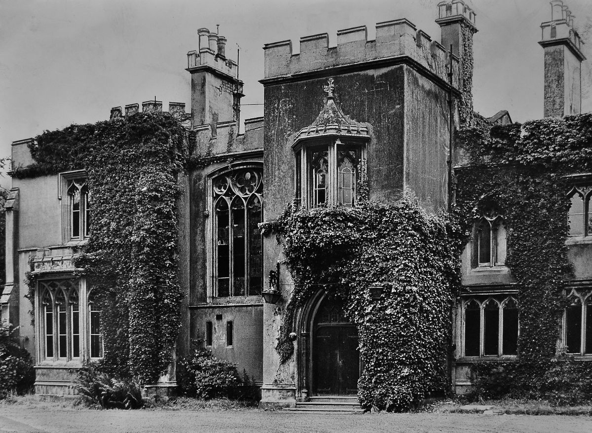 Tettenhall Wood House in 1969 shortly before demolition.