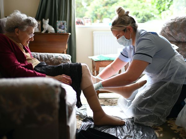 Care workers pay