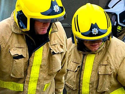 Two separate wood fires in skips at Telford and Wem