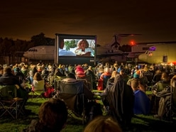 Star Wars and Top Gun at RAF Cosford outdoor screenings