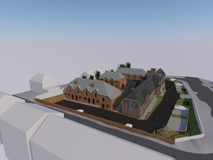 An artist's impression of the plans for the Gower building