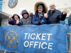 Sold out: Last few tickets snapped up for Shrewsbury Town v Liverpool FA Cup clash