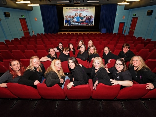 WATCH: Cosford Military Wives Choir perform for cinema-goers in Wolverhampton - with pictures