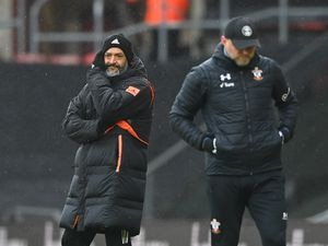 Nuno Espirito Santo the head coach / manager of Wolverhampton Wanderers looks on (AMA)