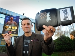 Tyson Fury weighs in to support Shropshire cancer charity