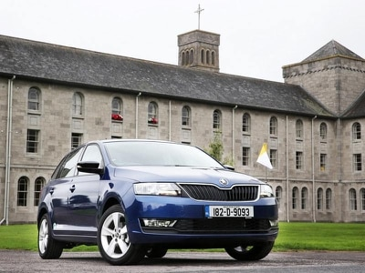 Skoda to support Papal visit with fleet of Rapids