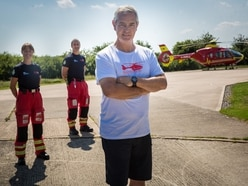 Former Telford police officer to take on 100km walk for Midlands Air Ambulance Charity