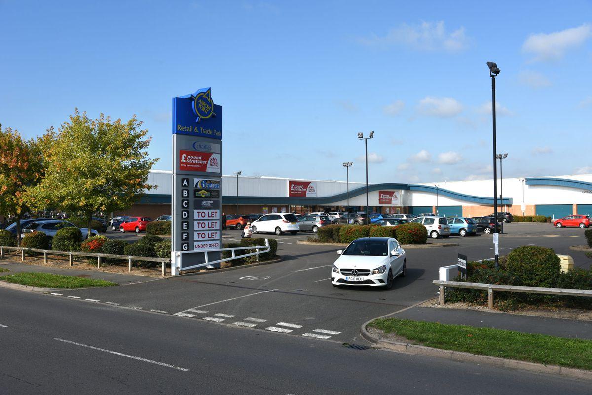 Arrow Retail Park, Shrewsbury