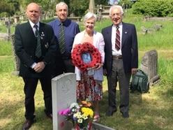 Canadian war hero honoured on Penny's return to Shrewsbury
