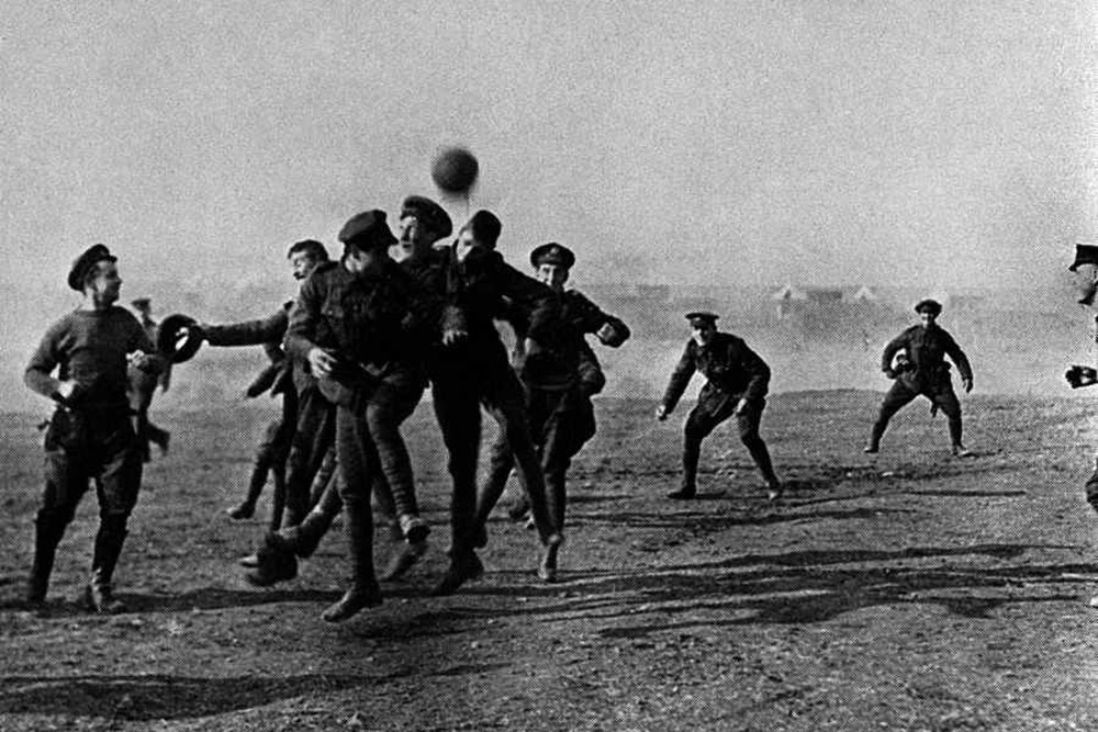 Christmas Truce Of 1914.Did Dawley Provide The Football For The 1914 Christmas Truce