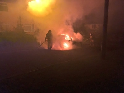 Telford car arsons: Police probe another blaze as spate of attacks continues