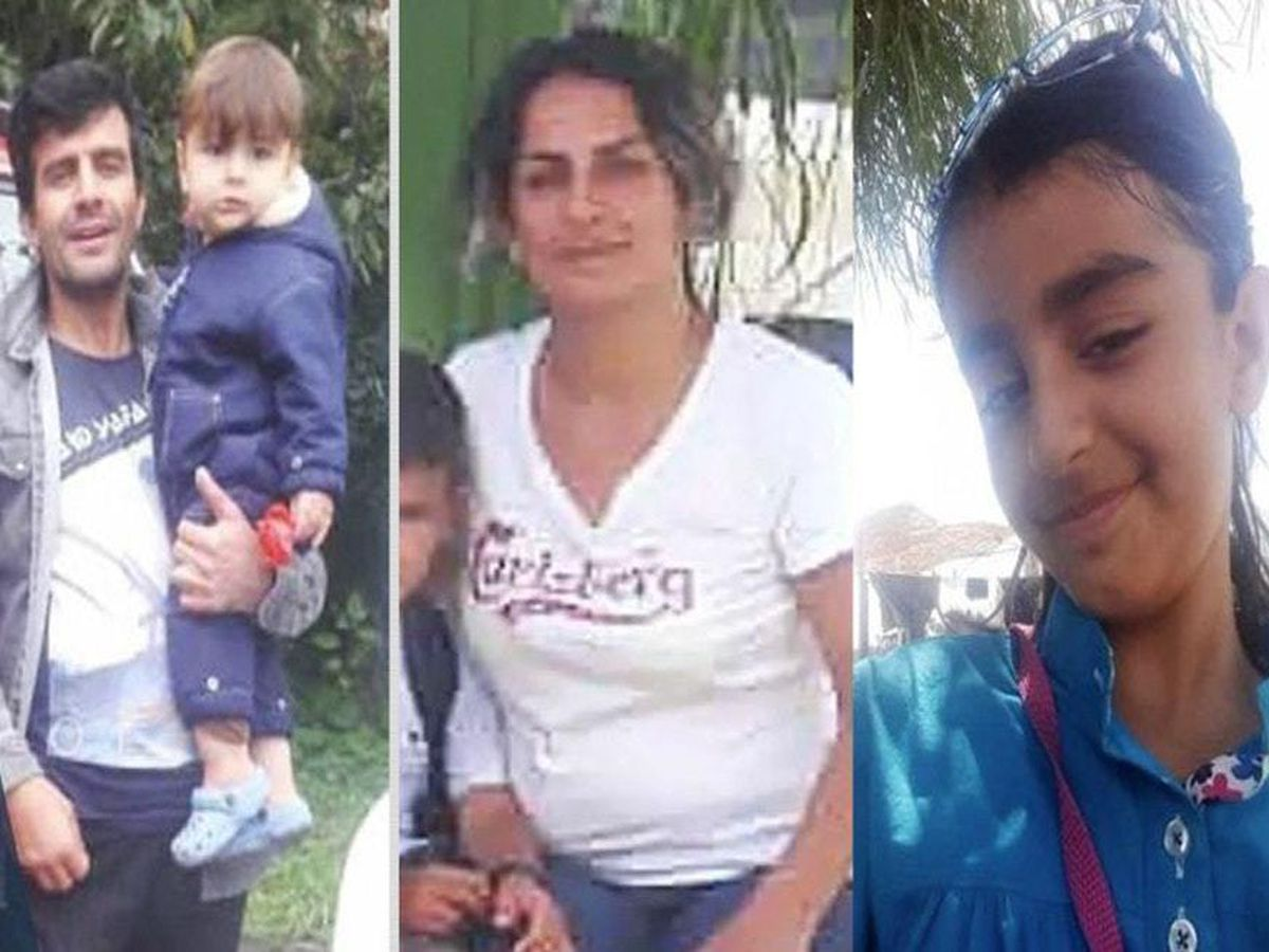 Rasoul Iran-Nejad, Shiva Mohammad Panahi, Anita, nine, and Armin, six, died when their migrant boat sank