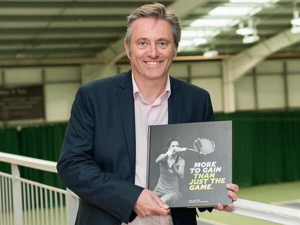 Tennis book looks set to be a hit