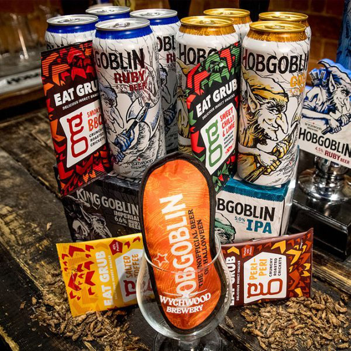 Hobgoblin Beer & Bugs Snack Pack