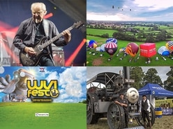 Shrewsbury Folk, WV1 Fest, Balloon Carnival, Steam Rally and more: What's on this bank holiday weekend in Shropshire and the West Midlands