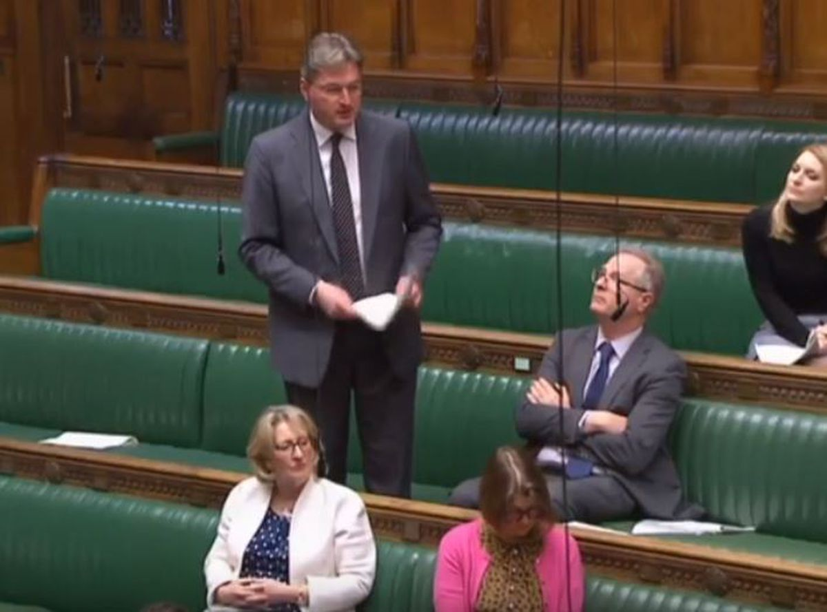 Daniel Kawczynski in the Commons today