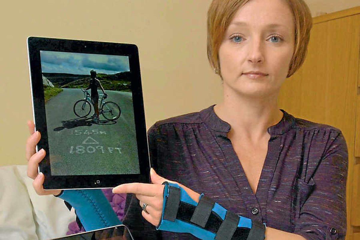 Injured Shropshire cyclist in calls for improved safety