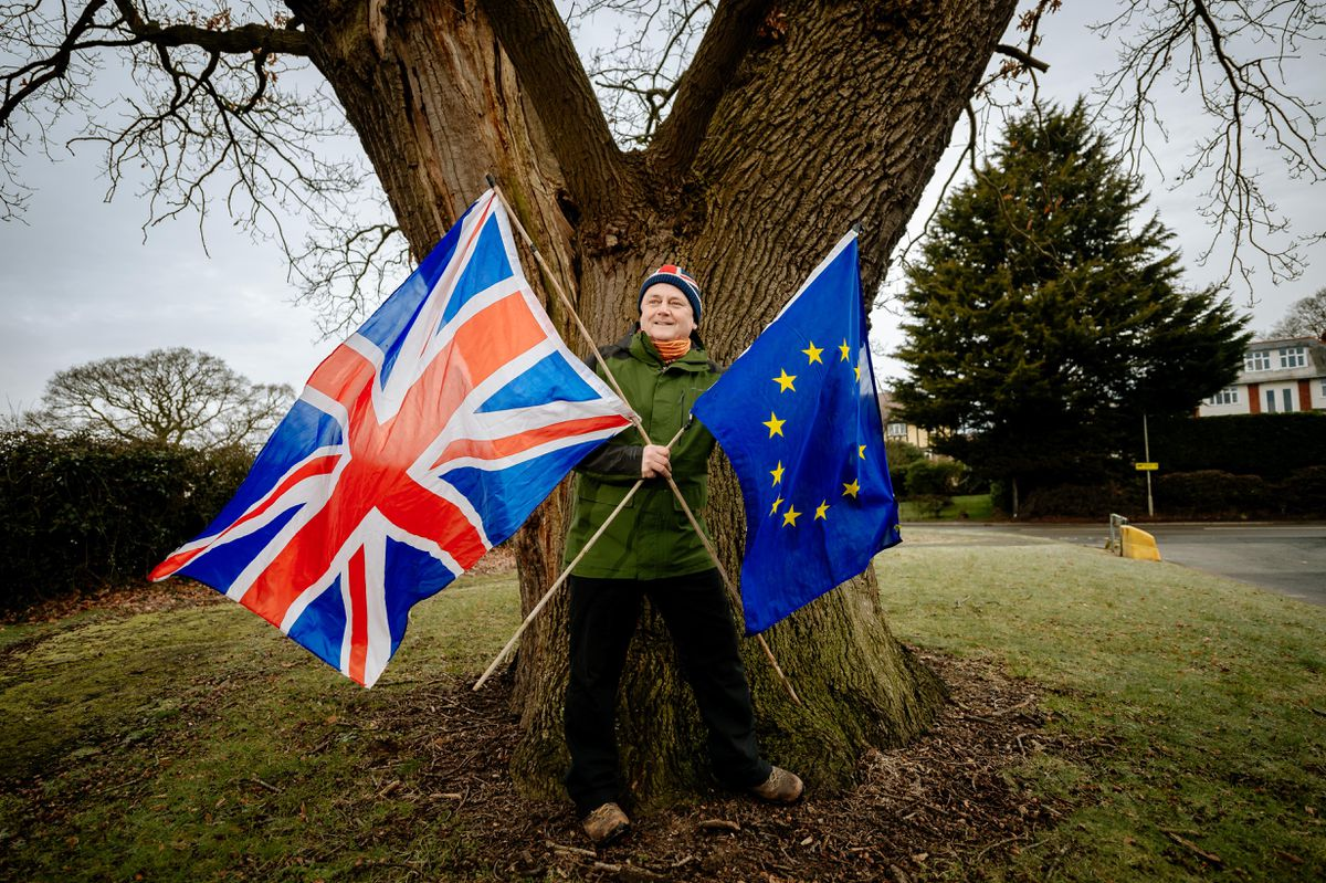 Rob McBride is promoting the European Tree of the Year competition despite Covid