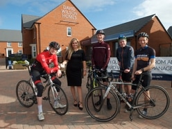 Cyclists' French connection with charity ride for Greg