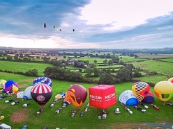 Oswestry Balloon Carnival organisers hoping summer will return for two-day event