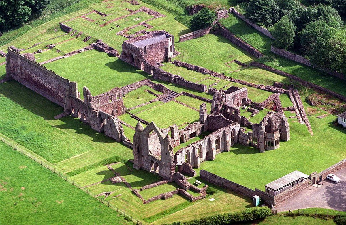 Haughmond Abbey, near Shrewsbury