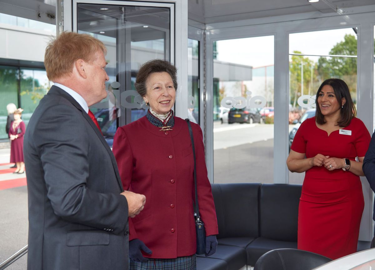 The Princess Royal at Aico in Oswestry