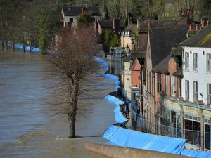 The flooding in 2020 led to the evacuation of properties on the Wharfage