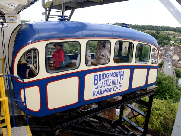 Coronavirus: Bridgnorth's historic cliff railway closes