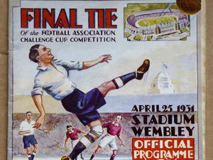 A 1931 FA Cup programme featuring Albion and Birmingham