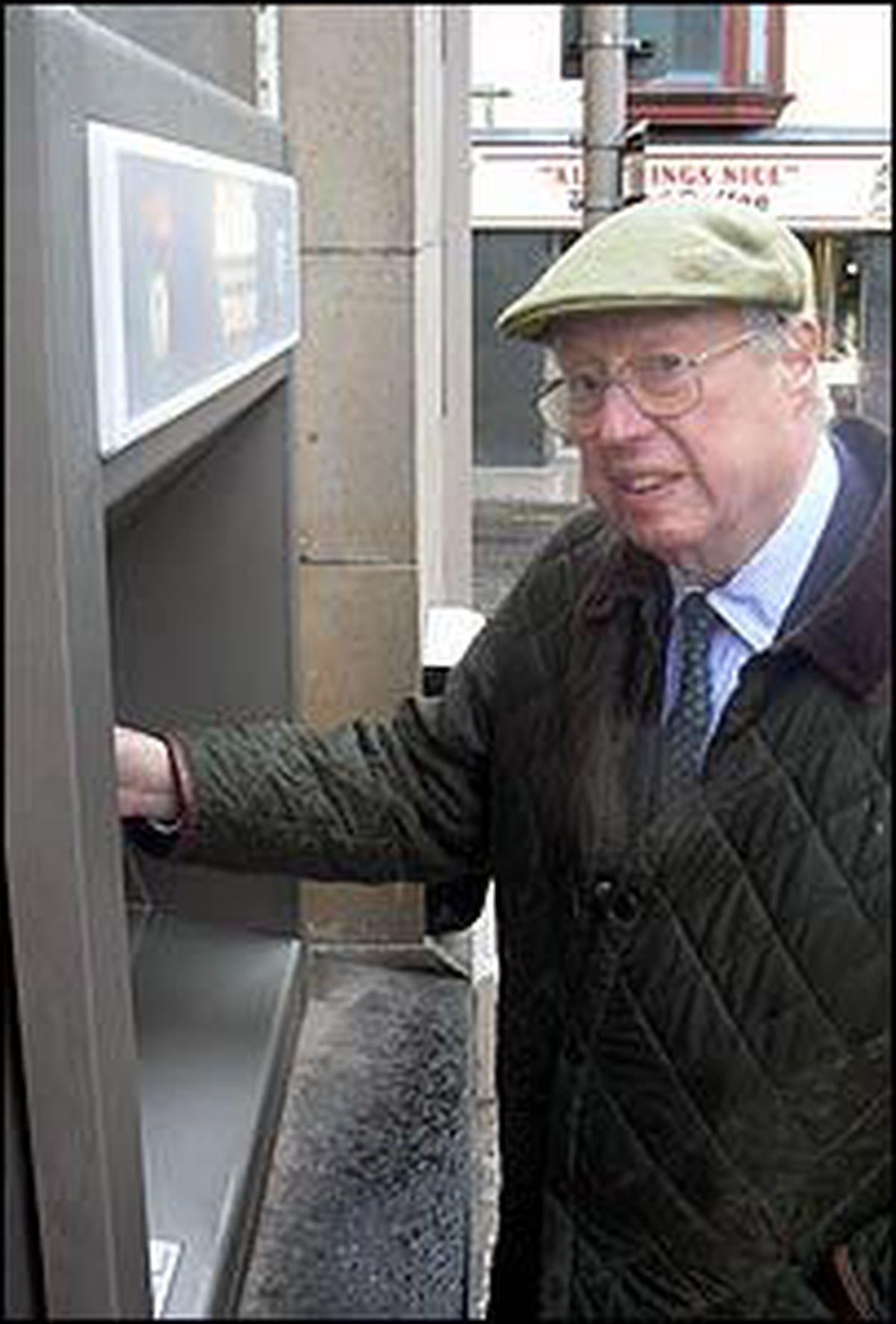 The man who invented the cashpoint – John Shepherd-Barron