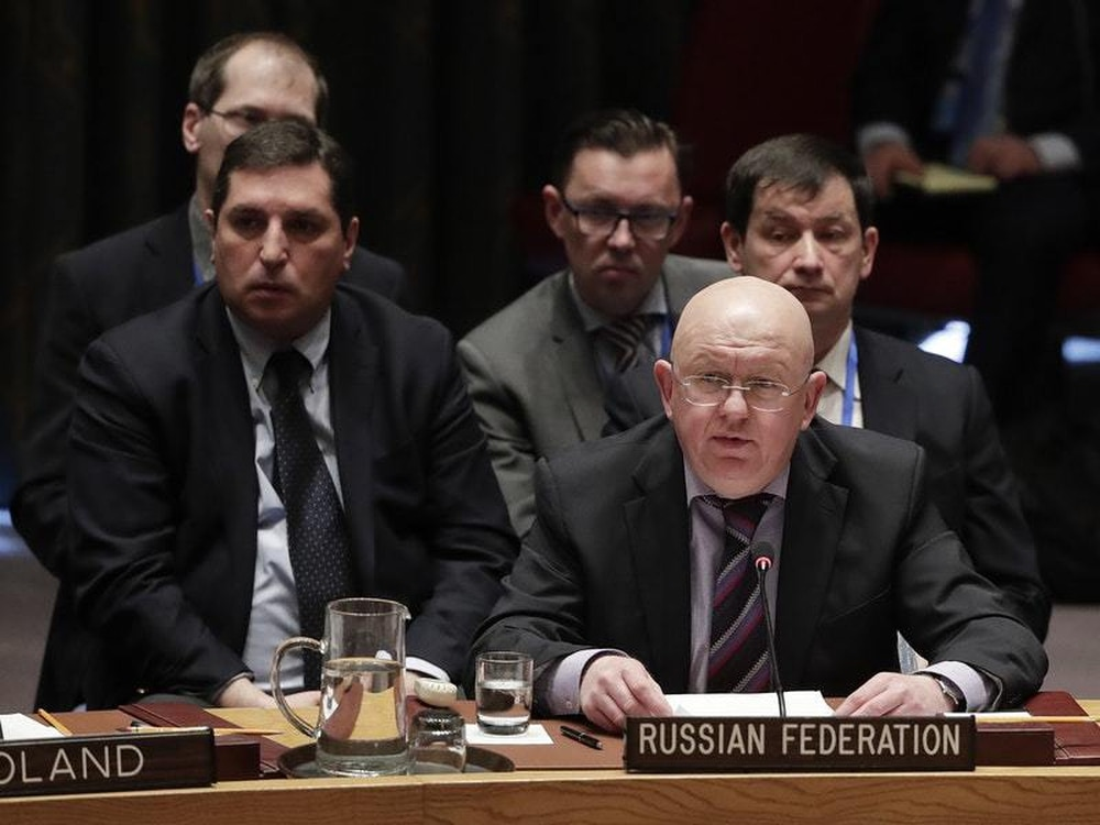 UN Security Council rejects three proposed resolutions on the crisis in Syria