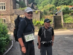 Retirees walking across UK for Shropshire charity near journey's end